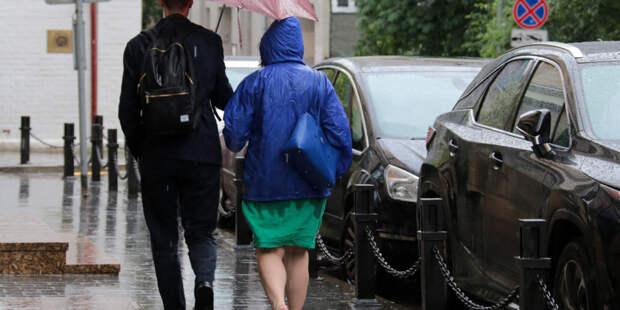 В субботу в Москве может выпасть до 40% месячной нормы осадков