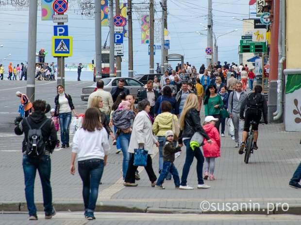 С начала года численность населения Удмуртии снизилась более чем на 3 тысячи человек