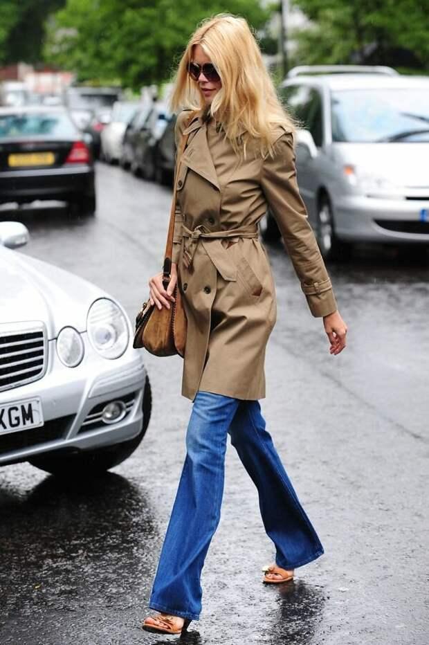 12 способов стильно носить тренч женщине 45+