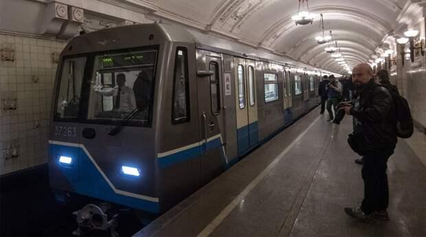 """""""Атомный поезд"""" запущен в метро столицы России"""