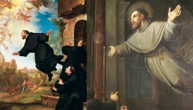 Летающий монах Иосиф Купертинский