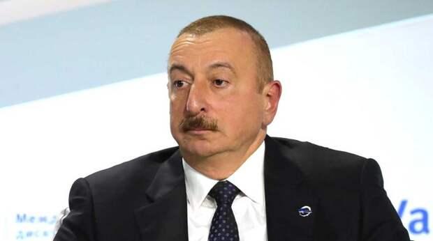 """Алиев объявил о """"крахе армянского государства"""" из-за Карабаха"""