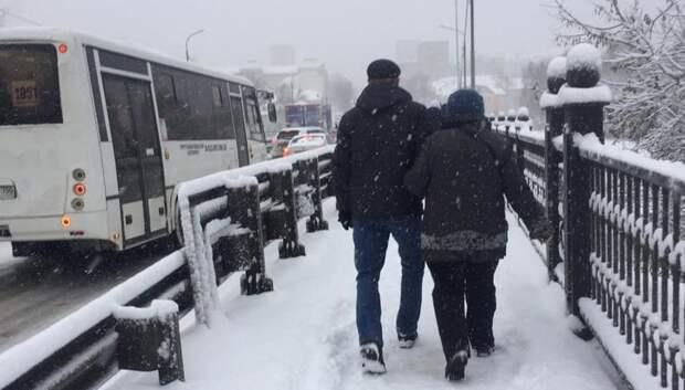 Водитель автобуса в Подольске отказался везти пассажиров из‑за пробки
