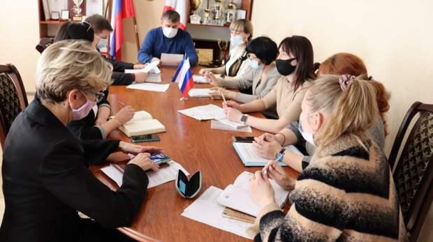 Михаил Слободяник заслушал сводный годовой доклад о ходе реализации муниципальных программ Сакского района Республики Крым за 2020 год
