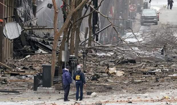 Разрушительный взрыв в Нашвилле: 3 пострадавших, власти считают инцидент «преднамеренным»