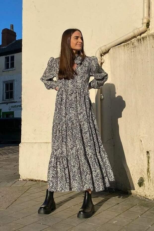 3 модели теплых платьев, которые помогут выглядеть стильно