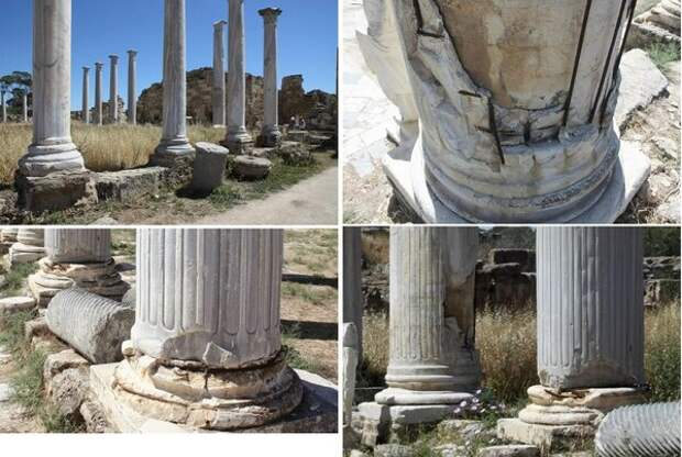 Армированное каменное литьё древности