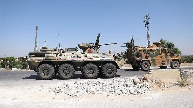 На маршруте российско-турецкого патруля в Сирии прогремел взрыв