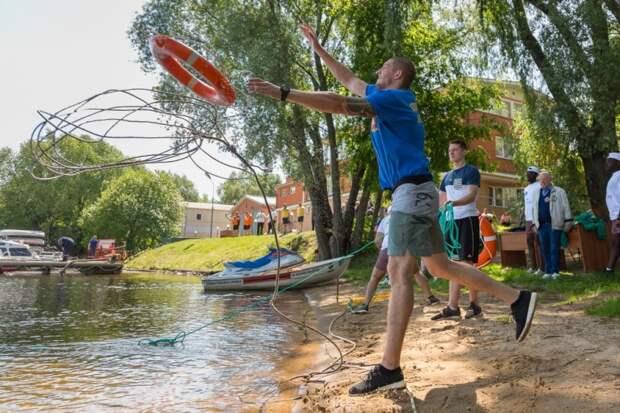 На поисково-спасательной станции «Строгино» состоится смотр-конкурс на лучший общественный спасательный пост СЗАО