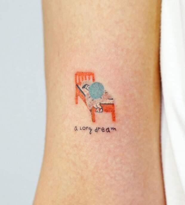 ✨ 12 классных идей маленьких и нежных татуировок