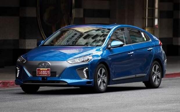 Беспилотный Hyundai Ioniq обойдется без «люстры»