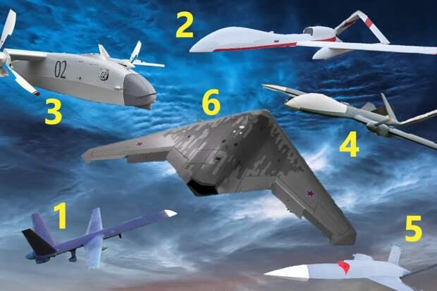 Свежий обзор российских ударных дронов