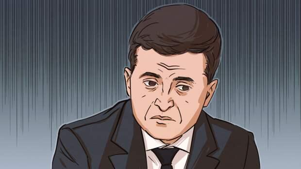 Зеленский четыре раза подряд опозорился перед украинской журналисткой