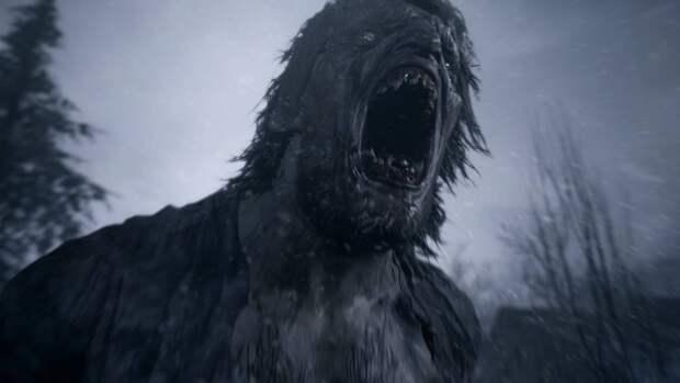 Жителям Великобритании показали огромного монстра из новой игры Resident Evil Village