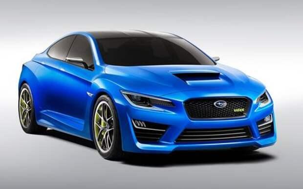 Новые Subaru WRX и WRX STI появятся не раньше 2020 года