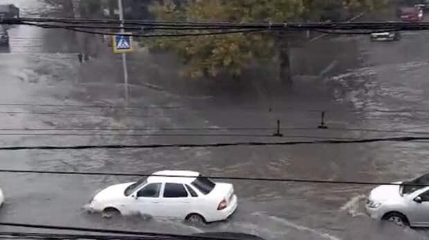 Река Шибик вышла из берегов на Кубани и подтопила 12 участков