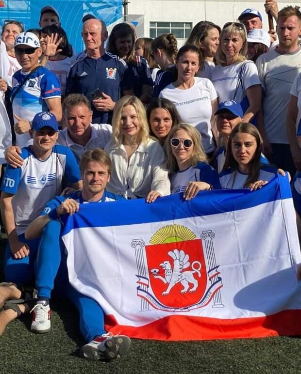 Крымчане впервые приняли участие во Всероссийский фестиваль ГТО