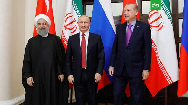 Перед саммитом Путин отдельно встретится с лидерами Ирана и Турции