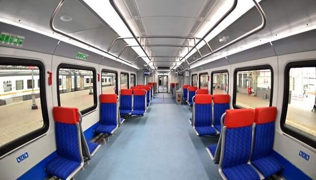 В поездах «Иволга» на МЦД поддерживают комфортную температуру, несмотря на жару