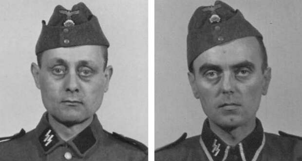 Портреты нацистских охранников Освенцима 1940−1945 годов