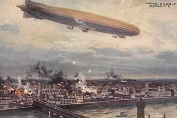 Кайзеровские дирижабли против столицы Британской империи англия, германия, первая мировая война, страницы истории