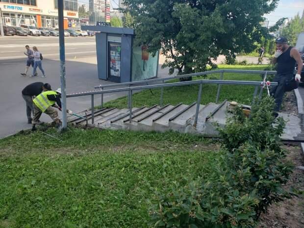 На Хачатуряна отреставрируют лестницу
