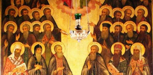 Празднование Собора Радонежских святых 19 июля 2021