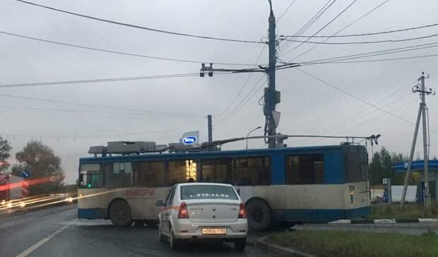ДТП сковали движение вНижнем Новгороде
