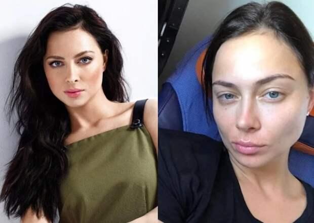 4 звезды, которых не узнать без макияжа