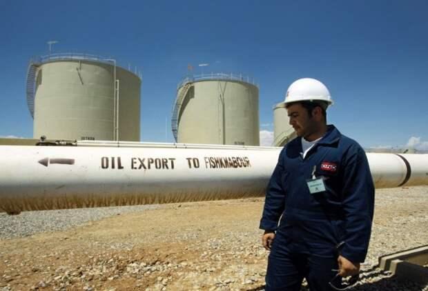 Курдистан экспорт нефти