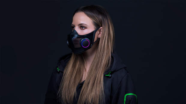 Razer показала умную маску от COVID-19 на выставке CES