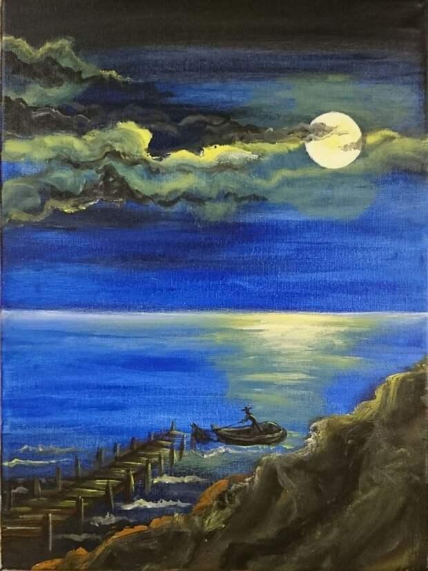 Британский художник. Teodora Mitova