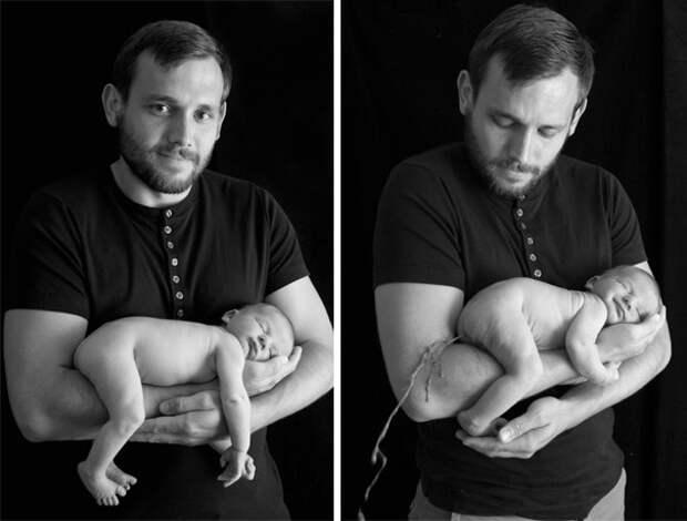Счастливый отец: ожидание и... дети, фото, юмор