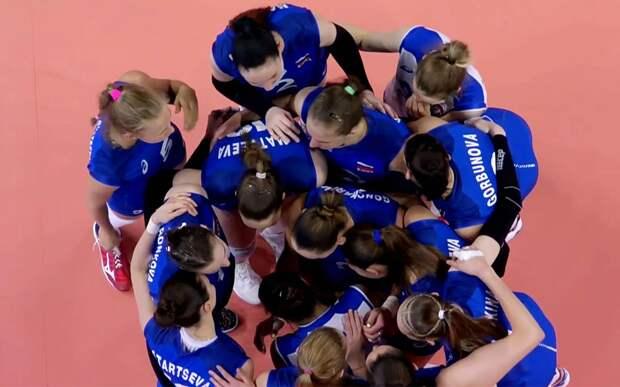 Российские волейболистки одержали вторую подряд победу на старте Лиги наций, отыгравшись с 0-2 против Бельгии