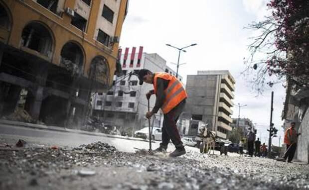 На фото: в Газе вступил в силу режим прекращения огня между Израилем и палестинскими группировками
