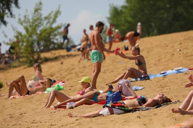 48 пляжей откроются в Нижегородской области этим летом