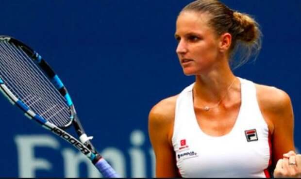 Плишкова одолела Остапенко и пробилась в полуфинал турнира в Риме