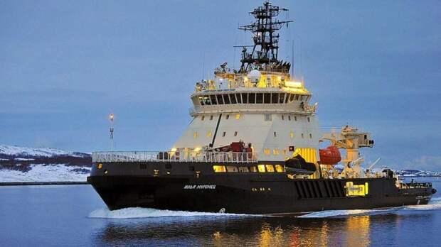 Группировку ВМФ РФ в Арктике усилит новейший ледокол «Евпатий Коловрат»