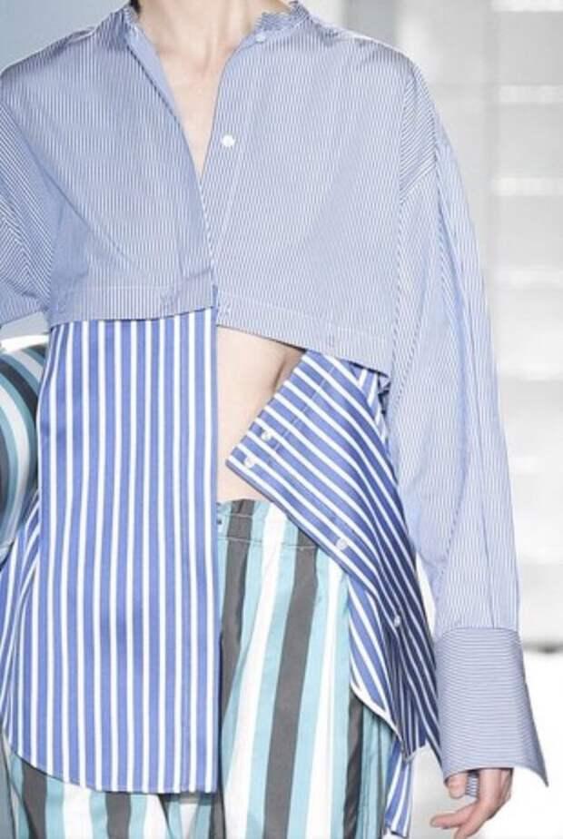 Необычные блузки-рубашки