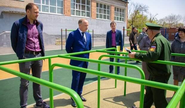 Полосу препятствий увладивостокской школы №60 отремонтируют попросьбе ветерана