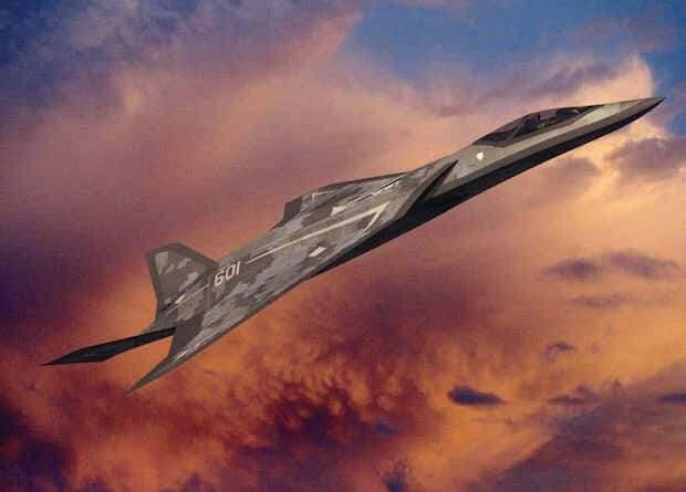В пустыне Мохаве заметили неизвестный самолет. Это может быть истребитель шестого поколения