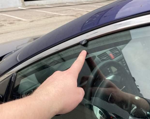 Печальные последствия использования экрана от солнца на авто