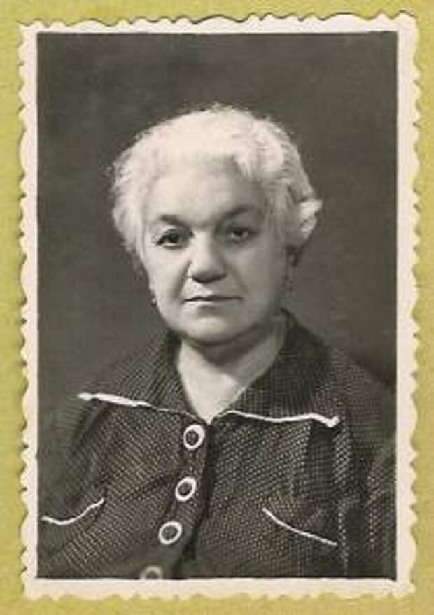 Молка Дорфман из дома Зингер, моя бабушка