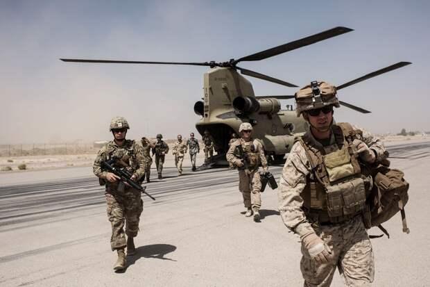 Военные США покинули свою базу в провинции Кандагар