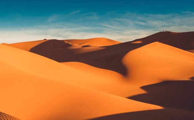 Ливийская пустыня - ее площадь составляет около 2 миллионов квадратных километров