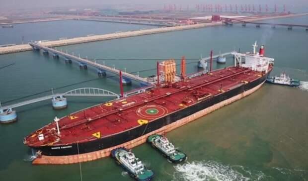 Более чем на12,6% вырос экспорт нефти вКитай вавгусте 2020