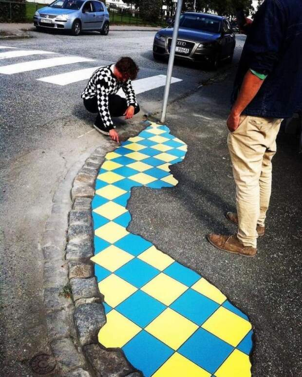 Тротуарный доктор Ememem (трафик)