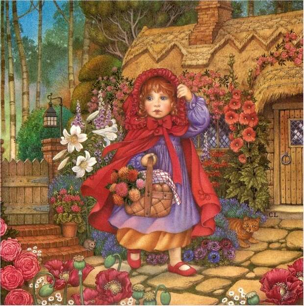 Carol Lawson. Красная Шапочка / Little Red Riding Hood