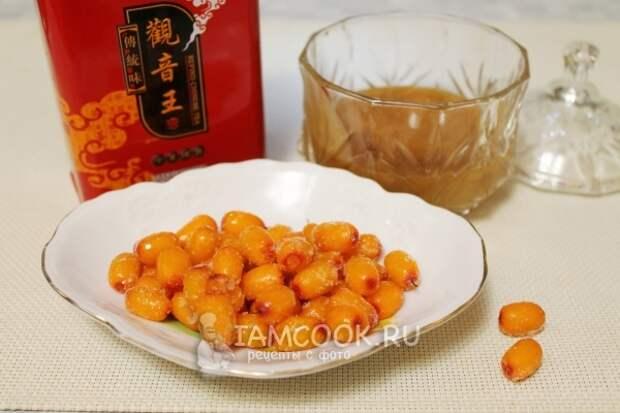 Ингредиенты для облепихового чая
