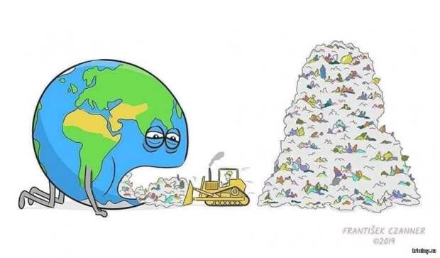 Планета Земля и человечество. Очень жизненно (9 картинок)